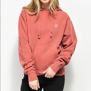 BRAND NEW! Zumiez dusty rose hoodie